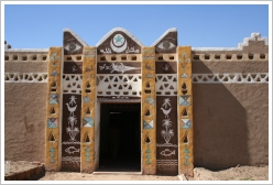 Nubian house at Aswan