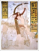 Tomb of Ramses III, left harpist