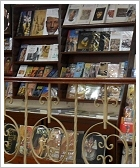 Books in Aboudi Bookstore, Luxor East Bank