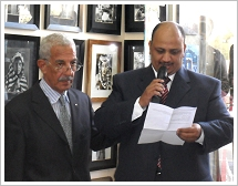 Aboudi Brothers while opening