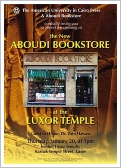 Aboudi Bookstore Opening, Luxor East Bank