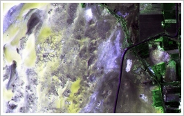 Satellite image of the Amheida Region - (c)New York University