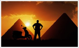 Cross Egypt Challenge at the Pyramids