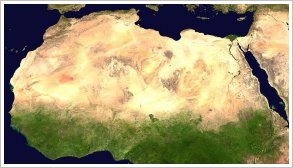 Expansion of the Sahara Desert across Africa