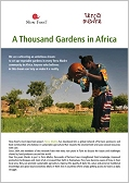 "Project ""A Thousand Gardens in Africa"""