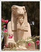 Sphinx at Karnak Temple, Luxor East Bank