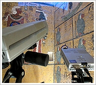 (c)Factum Arte - 3D Scanner in Tutankhamun's tomb, Valley of the Kings, Luxor West Bank