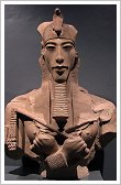 Bust of Akhenaton at Luxor Museum