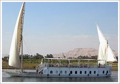 Long Nile Cruise on board of our business partner's dahabeya