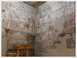Qasr El Aguz: Offering hall, Luxor West Bank