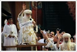 Election of the new Coptic Pope: The paper with Bishop Tawadros' name