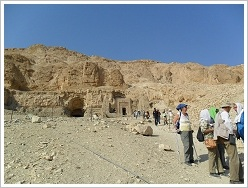 "Conference ""Thebes in the First Millenium BC"" - Visit at North Asasif"