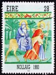 Irish Christmas stamp 1993