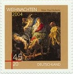 German Christmas stamp 2004