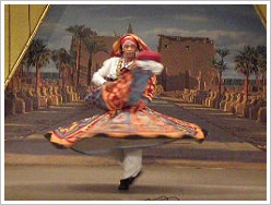 Qena Group for Folk Dance - Tanura Dancer