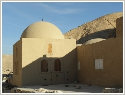 Theodore Davis House in the western Valley of the Kings, Luxor West Bank
