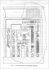 Transscript of the stela inscriptions from: Cahiers de Karnak, 1980, 6, S. 199