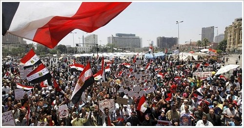 Tahrir Square in Cairo on 28 June 2013, (c) dpa