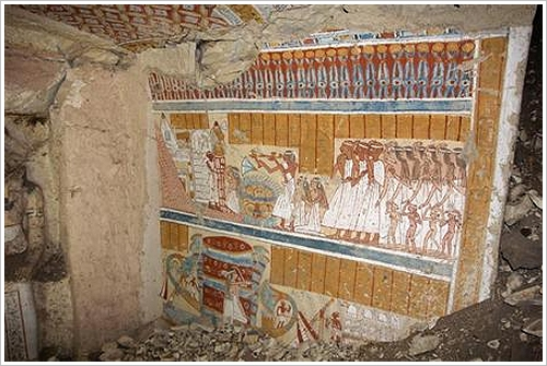 Tomb of Khonsuemheb in el-Khokha, Luxor West Bank, via MSN Japan