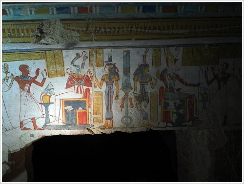 Tomb of Khonsuemheb in el-Khokha, Luxor West Bank, (c) SCA, AP