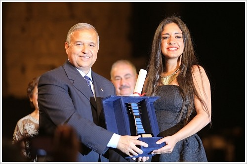 Award ceremony at the 2nd Luxor Egyptian and European Festival, Luxor East Bank, (c) Blue Ocean PR
