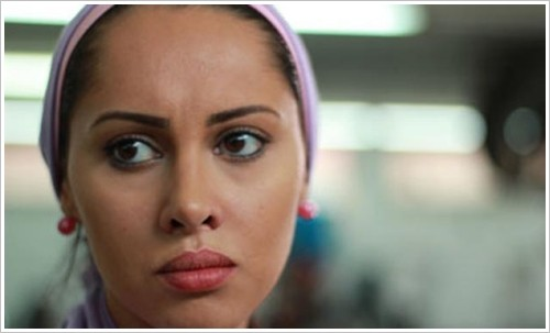 "2nd Luxor Egyptian and European Film Festival 2014 - Scene from the film ""Factory Girl"""