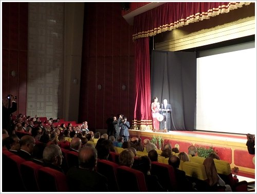 Opening ceremony of the 2nd Luxor Egyptian and European Film Festival on 19 January 2014