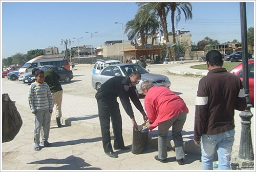 Cleaning Day in Ramla and Gezira, Luxor West Bank