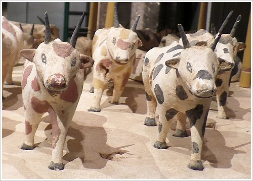 State Museum of Egyptian Art in Munich - Model Cattle